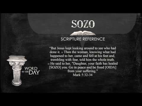 Greek Word of the Day - SOZO