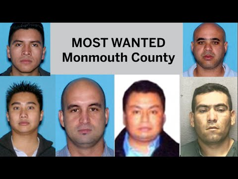 Most wanted in Monmouth County
