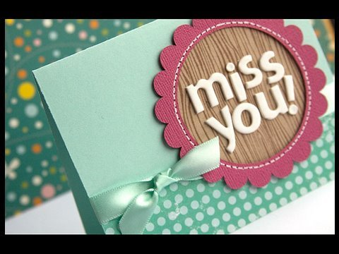 Miss You Make A Card Monday 66 Youtube