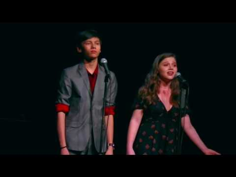 A Class Act NY's Cabaret: Sam Poon and Samantha Blaire Cutler sing