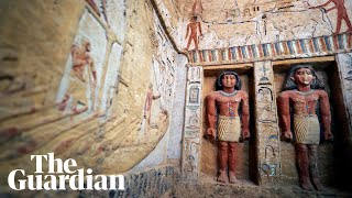 Egypt: 4,400-year-old tomb of high priest discovered