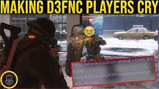 MAKING D3FNC PLAYERS CRY SOLO DZ PVP 55 The Division 1 8 3