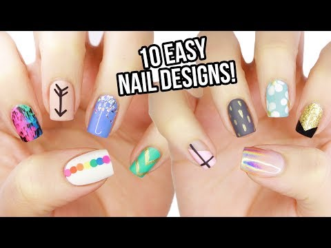 10 Easy Nail Art Designs for Beginners: The Ultimate Guide #6