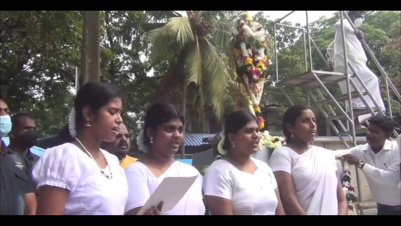 OBSERVANCE OF 73rd DEATH ANNIVERSARY OF MAHATMA GANDHI IN JAFFNA (30 JAN, 2021)