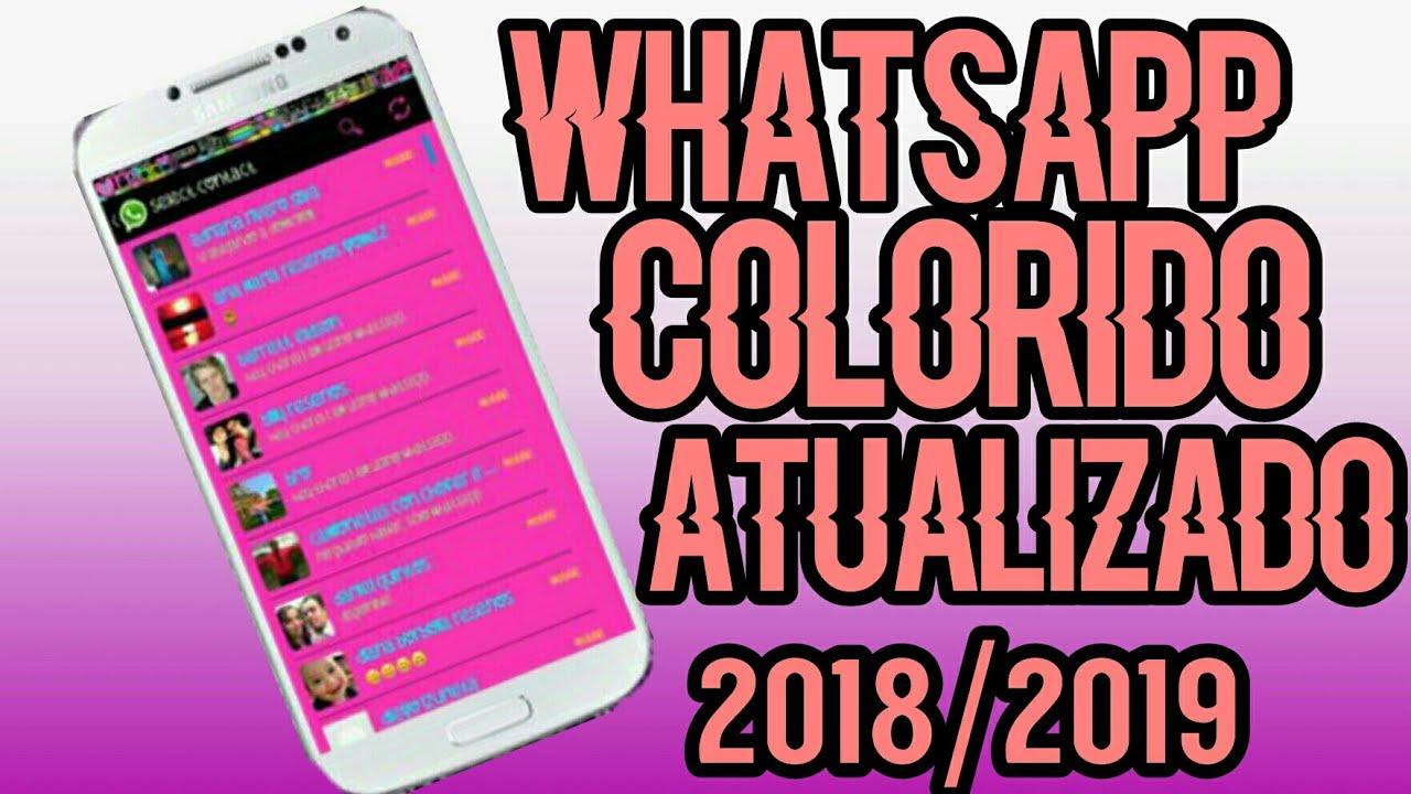 download whatsapp colorido atualizado
