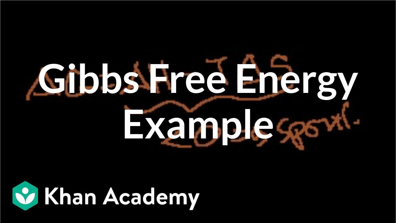 application of gibbs free energy in daily life