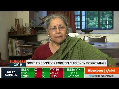 Indira Rajaraman Examines #Budget2019 Math