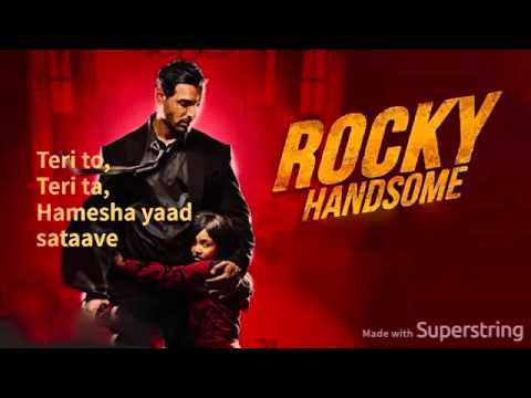 Rock Tha Party - Rocky Handsome(Audio+Lyrics)