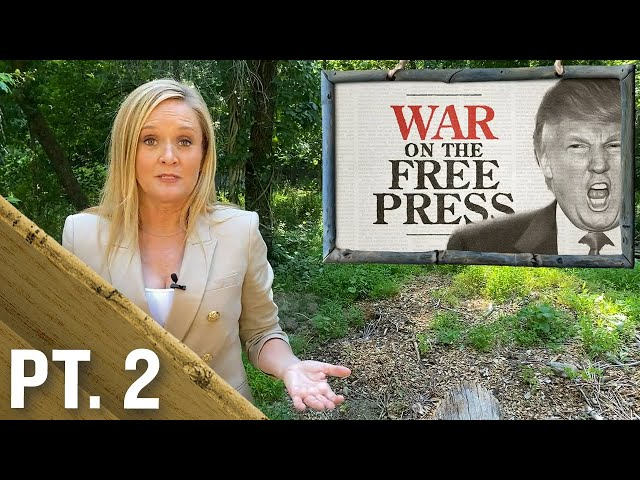 Trump's Ongoing Attacks On Our Nation's Free Press Part 2 | Full Frontal on TBS