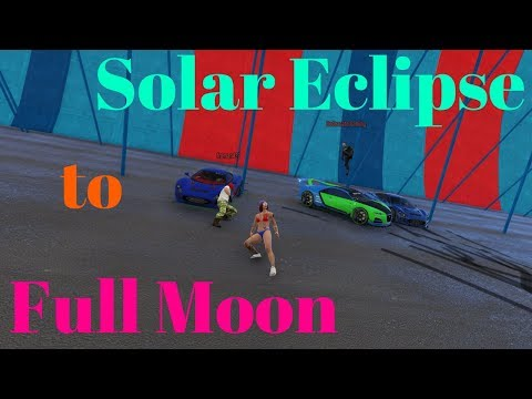 Solar Eclipse to Full Moon!!! #TEAMLIVE w/ Host TRice HD (Grand Theft Auto 5)