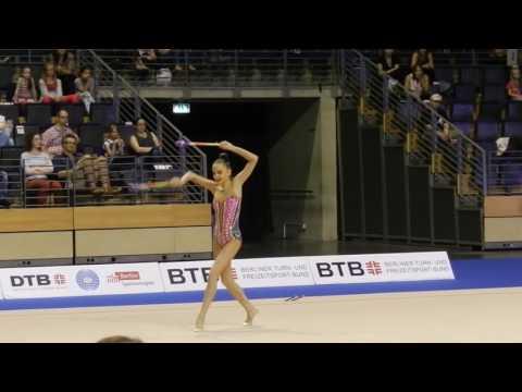 Дина Аверина Булавы Художественная гимнастика Берлин 2016