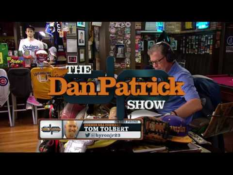 Tom Tolbert on The Dan Patrick Show (Full Interview) 6/17/16