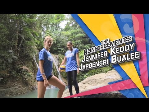 The Reinforcement: Jennifer Keddy And Jaroensri Bualee | PVL Exclusives
