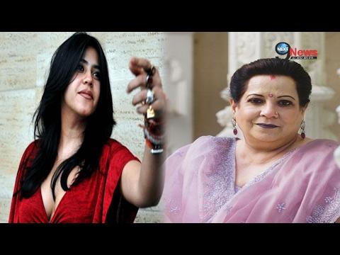Shocking: अपनी मां शोभा के साथ ऐसा बर्ताव करती है एकता | Ekta With Her Mother Shobha Kapoor