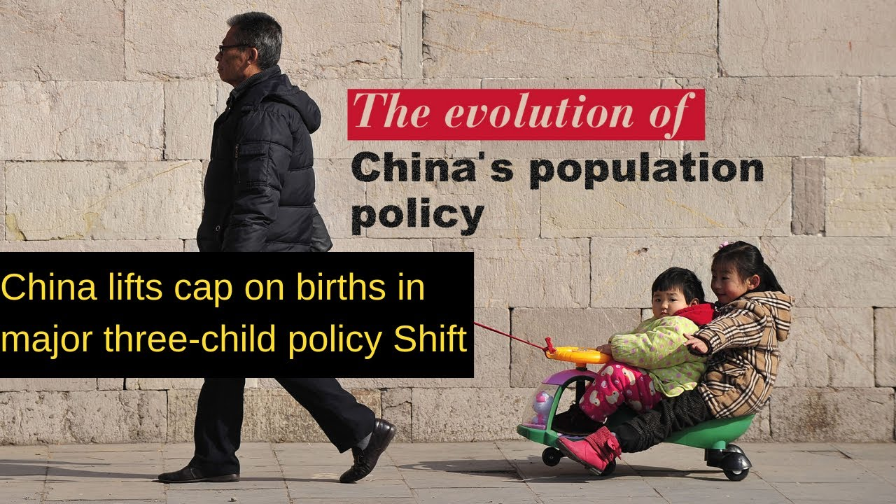 Three-child policy: China lifts cap on births in major policy shift