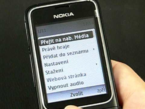 Nokia 2710 Navigation - média (hudba, galerie)
