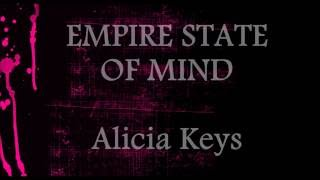 Download Empire State Of Mind  - Alicia Keys || Lower Key Karaoke (-1) MP3 song and Music Video