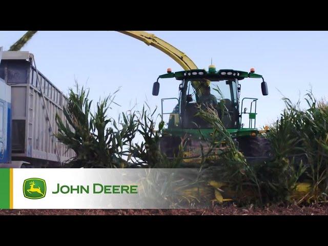 Nouvelles Ensileuses automotrices John Deere Série 8000 - Témoignages