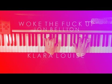 WOKE THE FUCK UP | Jon Bellion Piano Cover