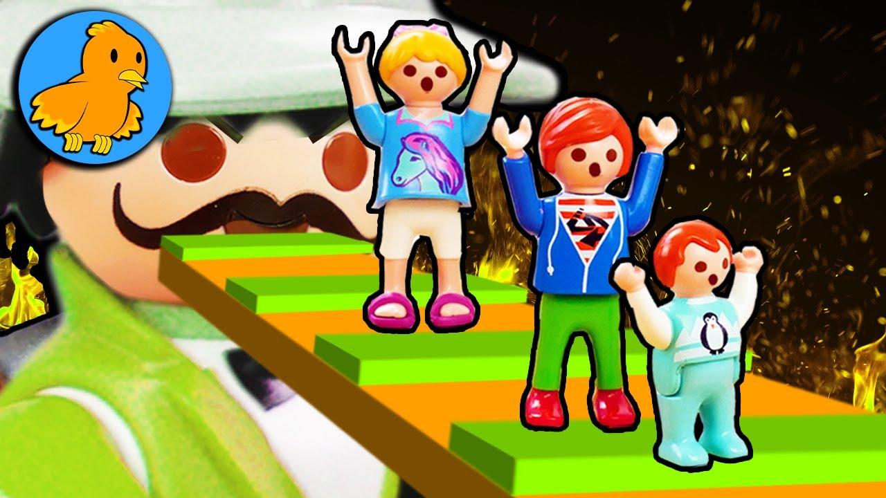 Können wir ENTKOMMEN? | Julian, Hannah und Emma müssen fliehen | Playmobil Film Deutsch