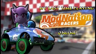 My Last Time Playing ModNation Racers Online (Uncut Gameplay)