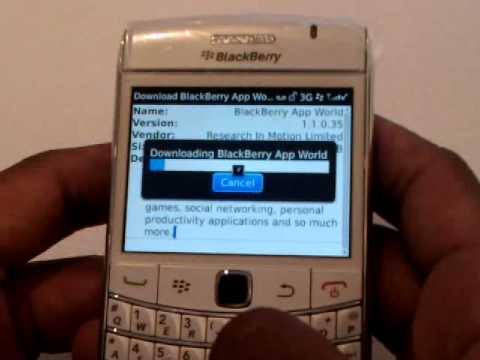 app world pour blackberry bold 9700