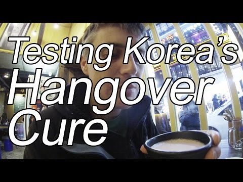 We Put Korea's Hangover Cure to the Test
