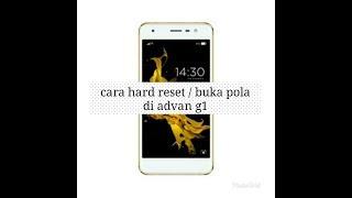 CARA MUDAH BUKA POLA/HARD RESET ADVAN G1 100% Work TANPA PC