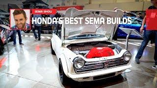 Honda's Best SEMA Builds 2019