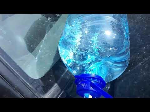 Эксперимент раскоксовка двигателя перекисью водорода!