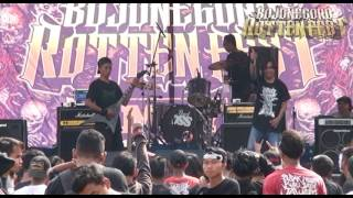 CRITICAL SODOM -  LIVE BOJONEGORO ROTTEN FEST #1 MAY11TH2017