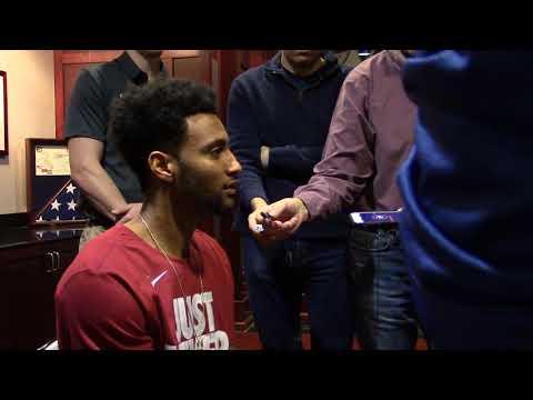 Braxton Key talks about Virginia Tech, NCAA selection