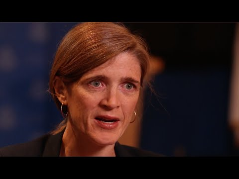 Samantha Power - The UN as a Platform to Address Global Challenges