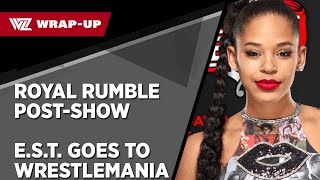 WWE ROYAL RUMBLE POST SHOW E S T GOES TO WRESTLEMANIA WrestleZone com