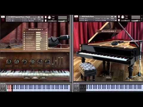 8Dio 1990 Prepared Studio Grand Piano