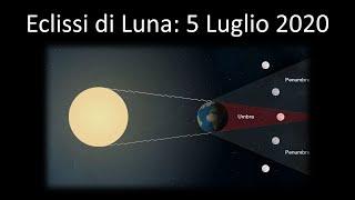Eclissi Di Luna Del 5 Luglio 2020 - Perche' La Luna Ci Mostra Sempre La Stessa Faccia?
