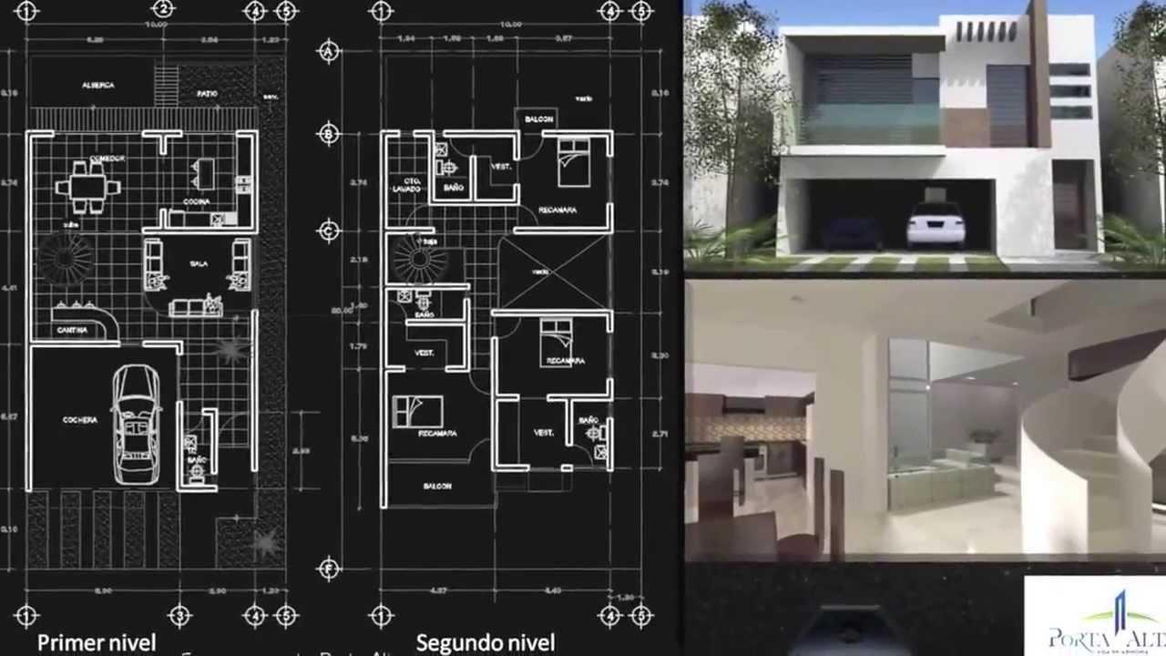 Planos de casas 9x18 10x18 20x18 youtube for Casa minimalista 10 x 20