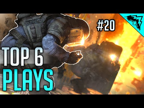 Rainbow 6 Siege Top 6 Plays (Epic Clutch, Fast Ace, Trick Play, Tactical Hostage) Bonus Plays #20
