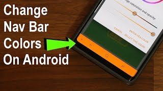 Change the Color of Navigation Bar on Any Android Smartphone