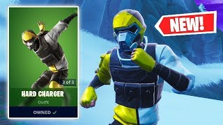 NEW HARD CHARGER Skin Gameplay in Fortnite!
