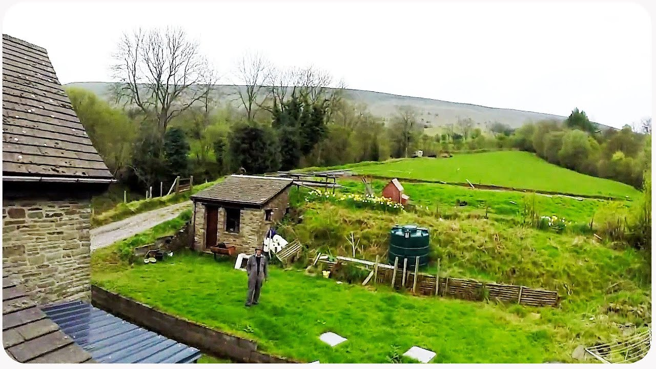 Drone explores english countryside village youtube sciox Image collections