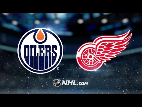 Six Oilers score in win against Red Wings