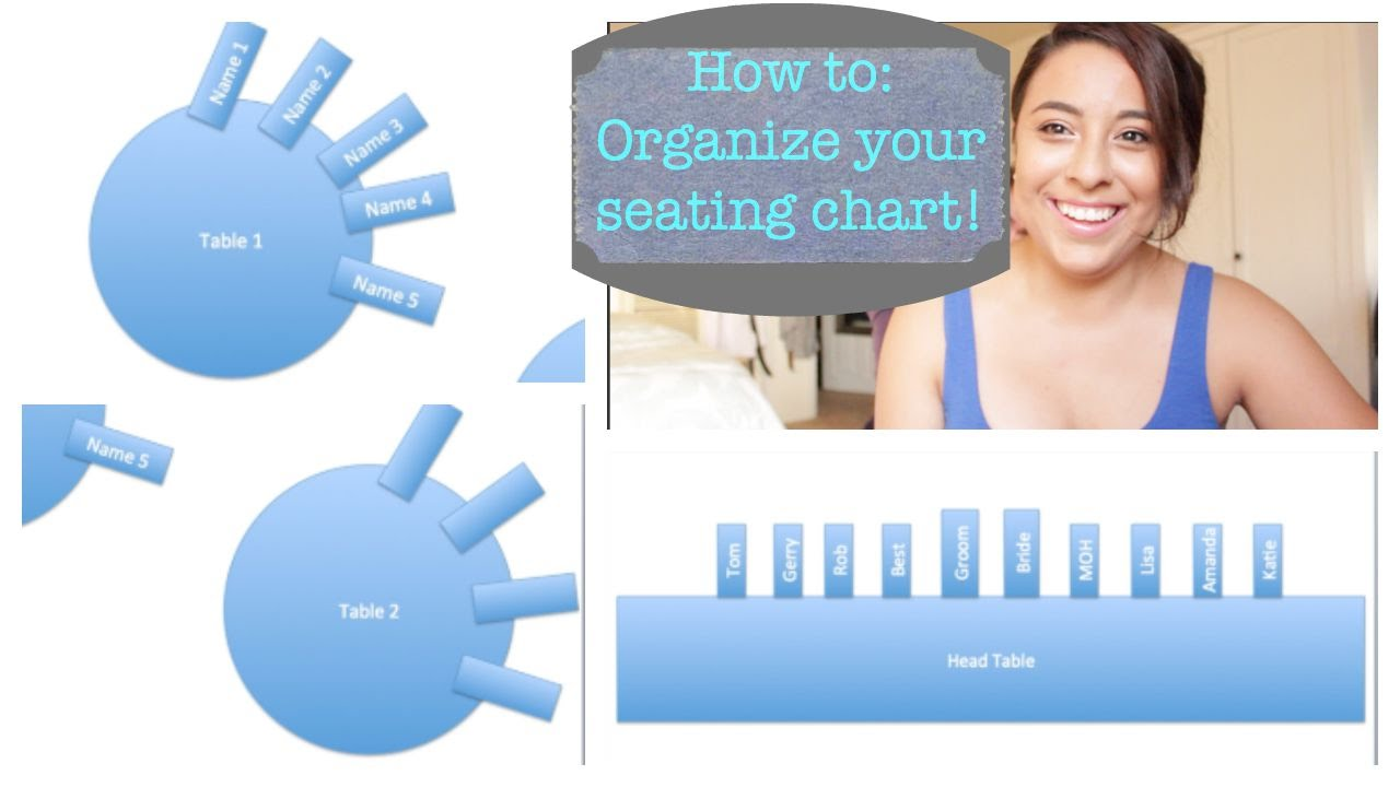 How To Organize Your Seating Chart Using PowerPoint