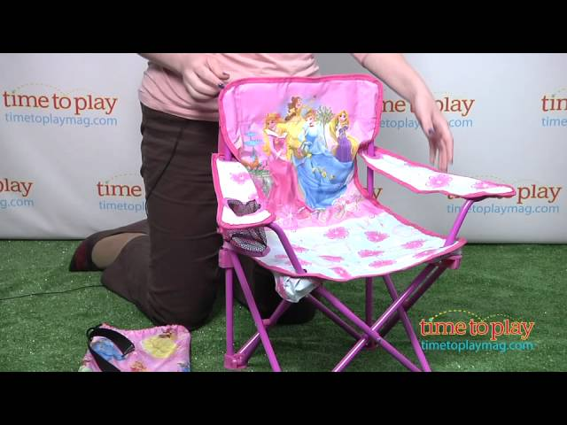 Disney Princess Fold N Go Chair From Kids Only Youtube