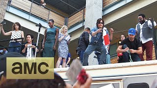 Fans Meet the Cast at the Comic-Con BBQ: The Walking Dead: Season 5
