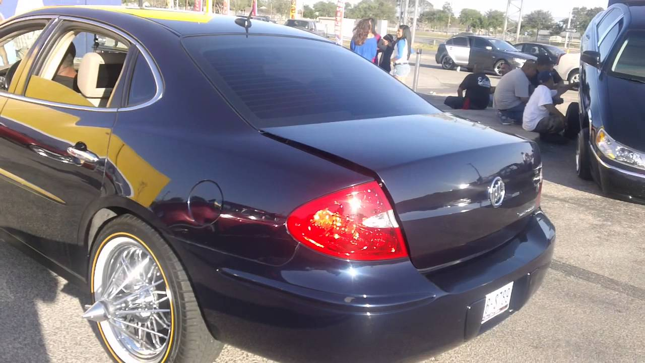 Buick Lacrosse on swngas rollers only carshow 2013 - YouTube