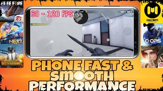 How to Make your Phone FASTER and SMOOTHER in Gaming with More FPS | NO APPS NEEDED!