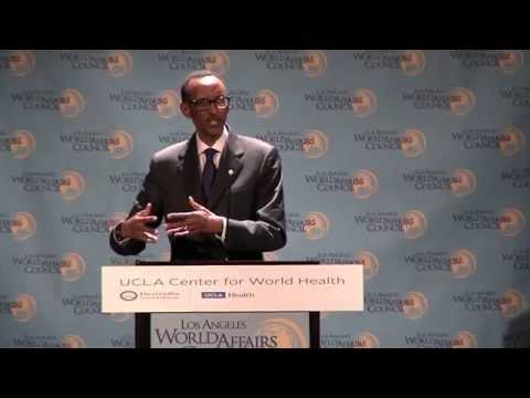 President Paul Kagame: RWANDA:  BUILDING A NATION FROM A NIGHTMARE