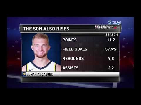 Domantas Sabonis Highlights - 22pts, 12rebs, 2 assists - Oct. 29, 2017