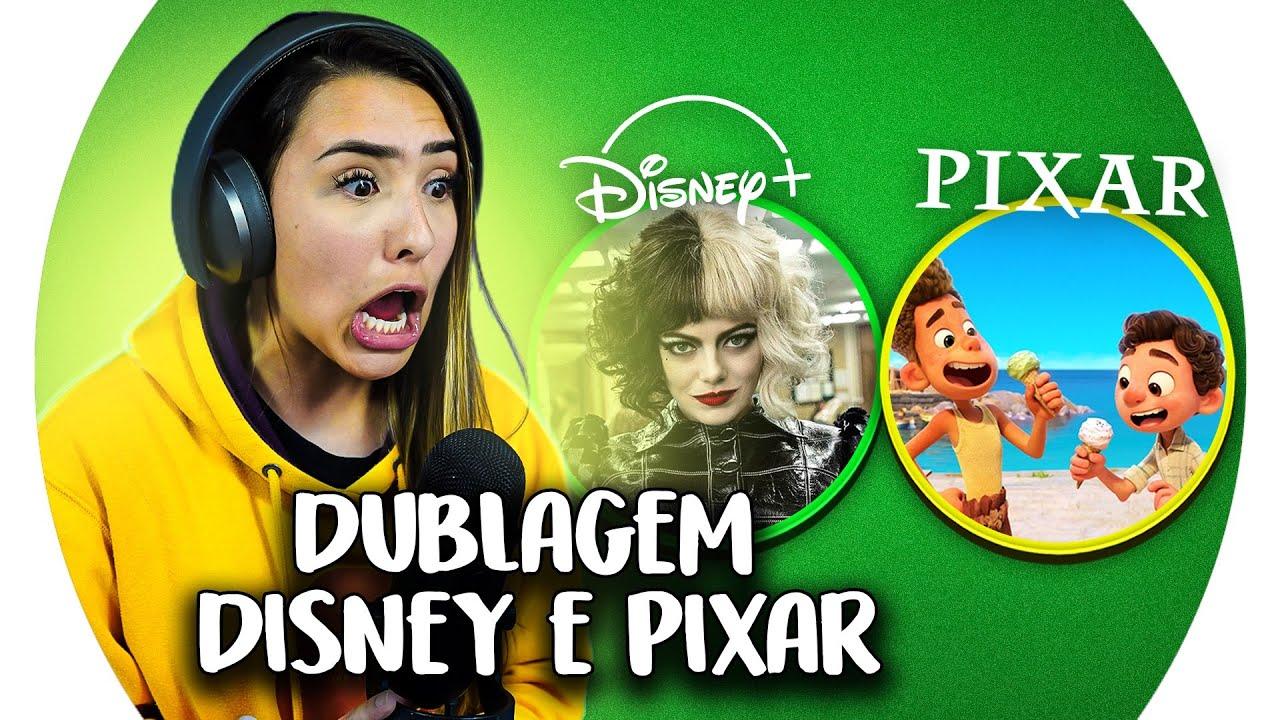 DUBLEI FILMES DA DISNEY! (CRUELLA, LUCA, HIGH SCHOOL MUSICAL)